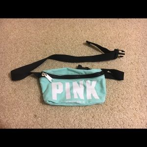 Victoria's Secret PINK Blue Fanny Pack